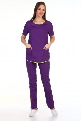 152.0 Костюм женский, фиолетовый