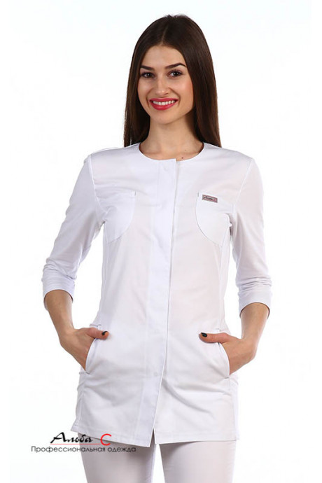 К134.0 Куртка женская, белый