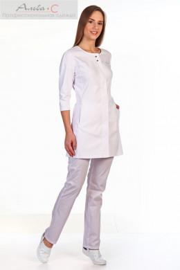 К125.2 Куртка женская, белый