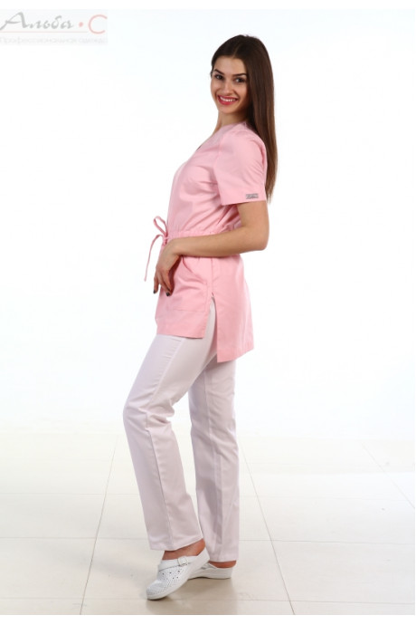 124.0 Туника, бледно-розовый