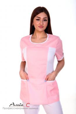 К135.0 Куртка женская, бледно-розовый