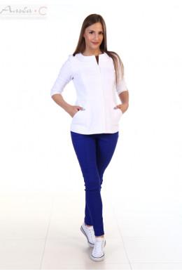 К136.1 Куртка женская, белый